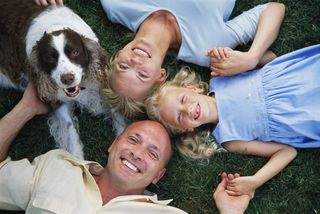 Family-with-dogs